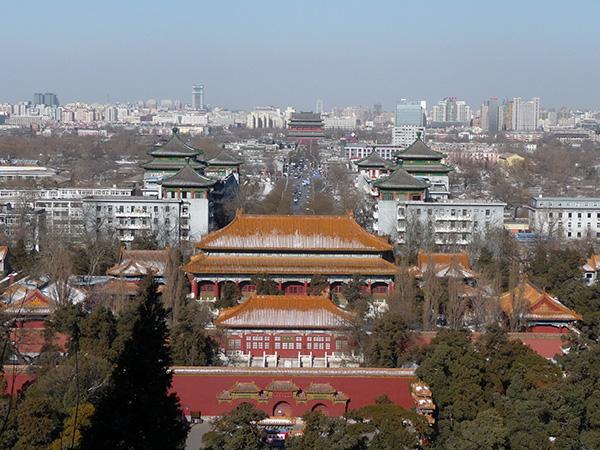 Mille motivi per iniziare a studiare cinese - Pechino vista da parco Beihai