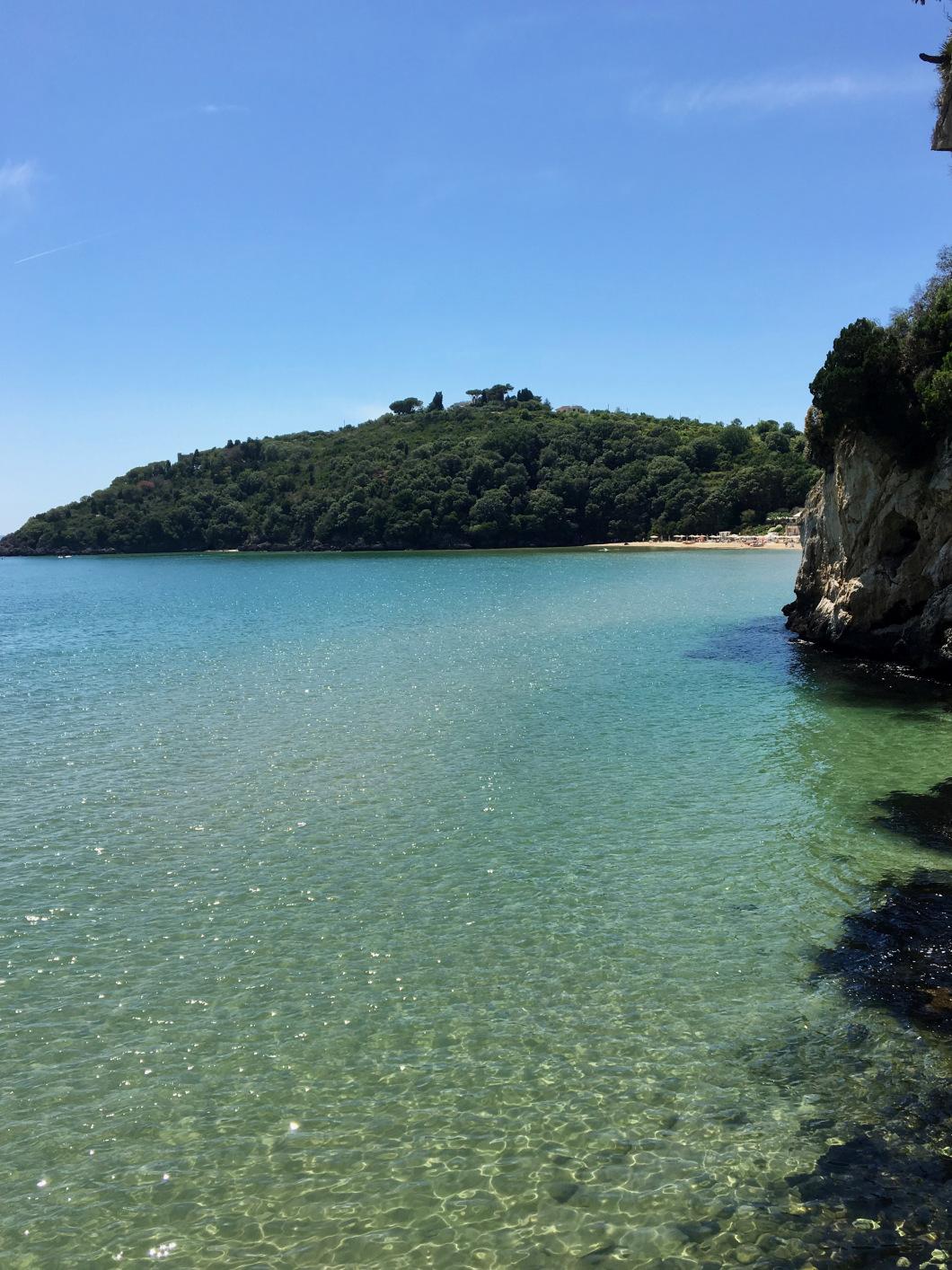 mare e vegetazione - mare a Sperlonga e Gaeta
