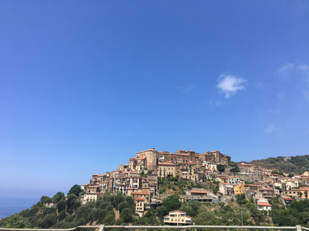 Pisciotta village Cilento
