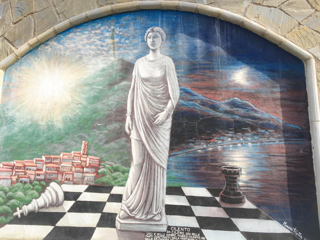 murales borghi del Cilento